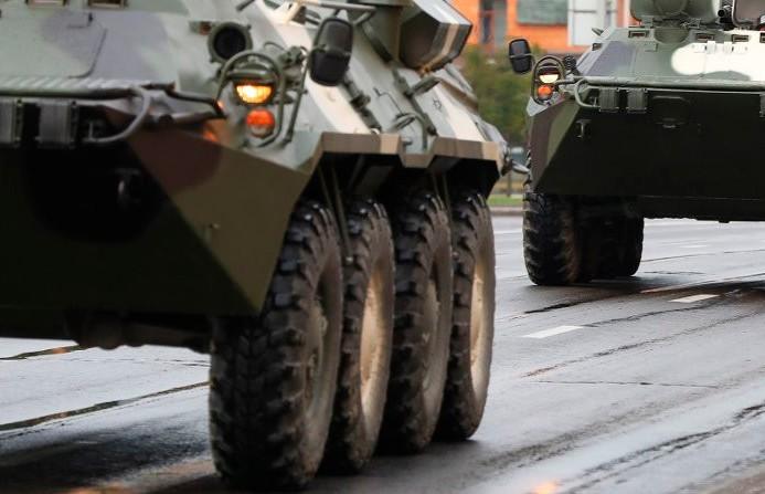 Военная техника появится на загородных трассах Беларуси