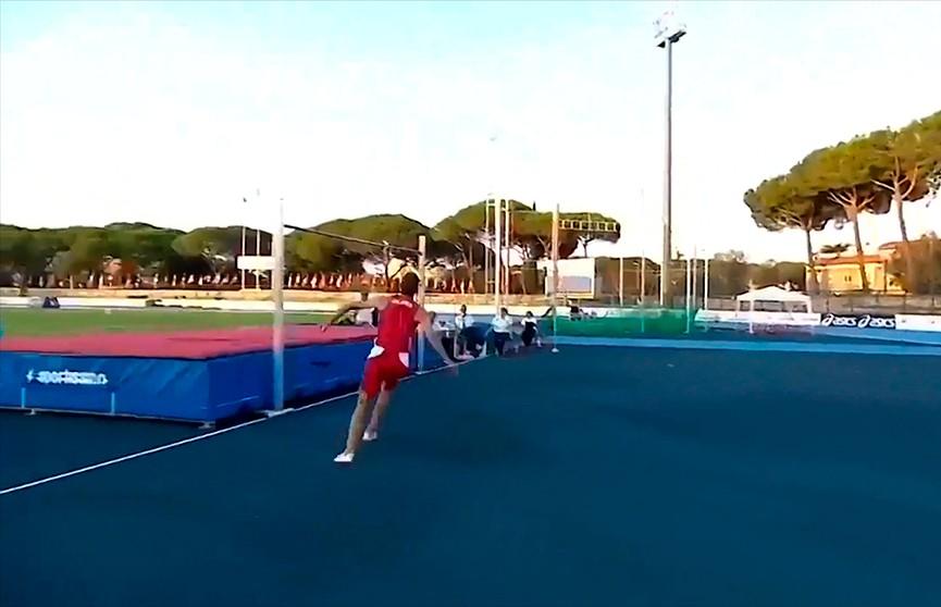 Легкоатлет Максим Недосеков занял третье место в прыжках в высоту на этапе Бриллиантовой лиги в Риме
