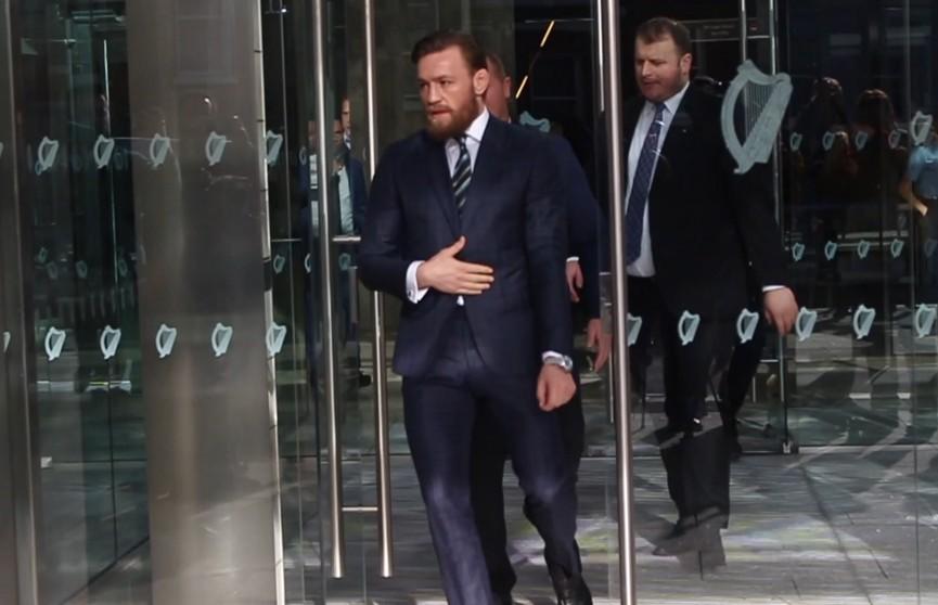 Конор Макгрегор предстал перед судом по делу о нападении