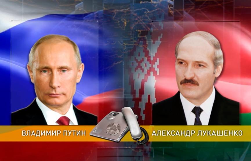 Александр Лукашенко и Владимир Путин обсудили двустороннее сотрудничество и договорились о новой встрече