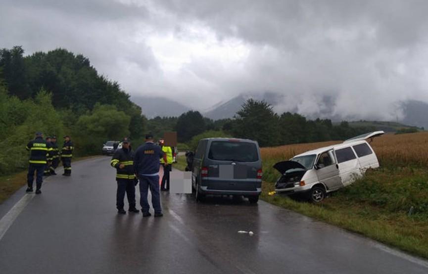 Четверо детей погибли в ДТП в Словакии