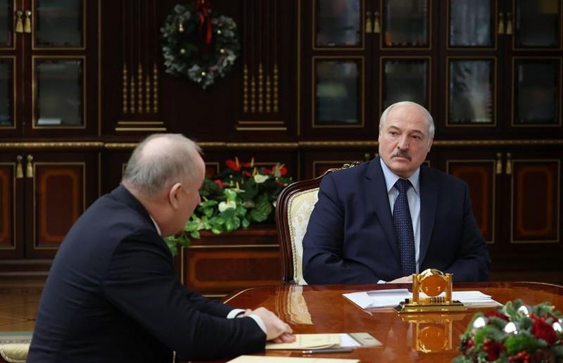 Лукашенко принял с докладом Павла Каллаура и Валерия Бельского
