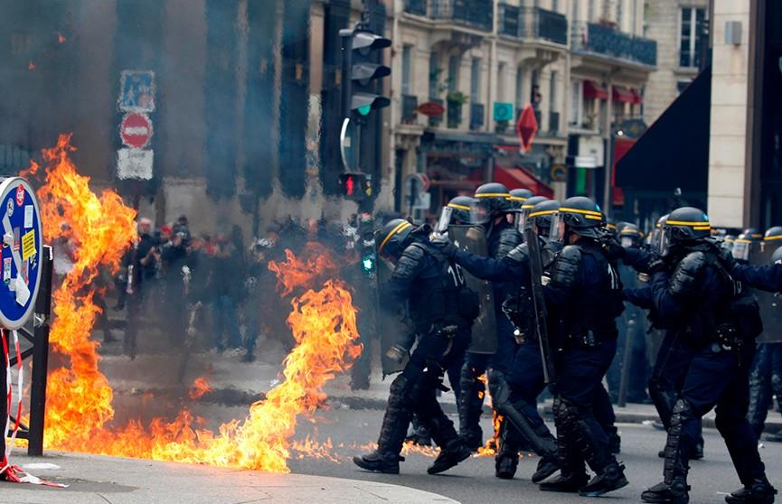 Футбольные матчи обернулись погромами в Париже и Марселе