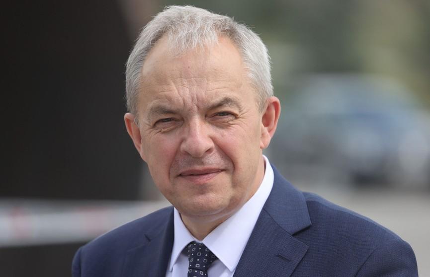 Глава Администрации Президента Игорь Сергеенко с рабочей поездкой посетил Волковысский район