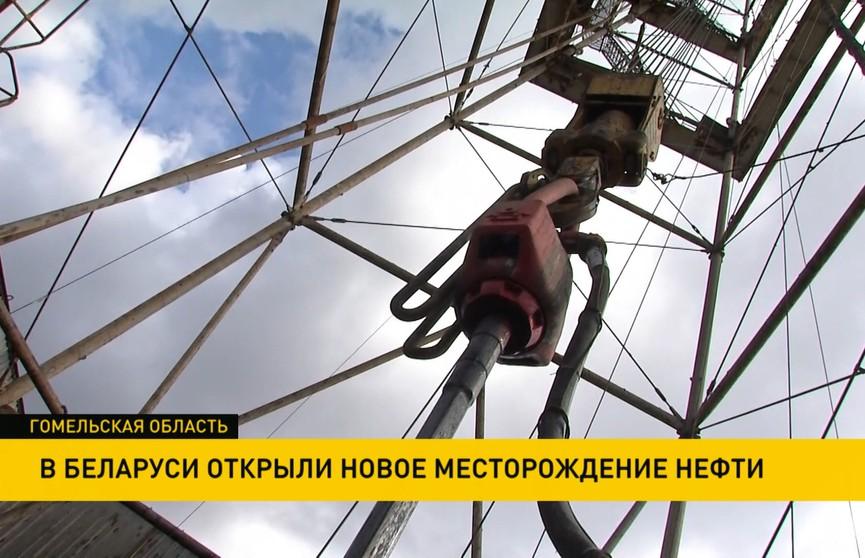 Новое месторождение нефти  открыли в Беларуси