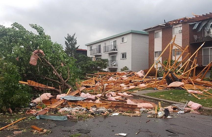 Более 30 человек пострадали в результате торнадо в Канаде