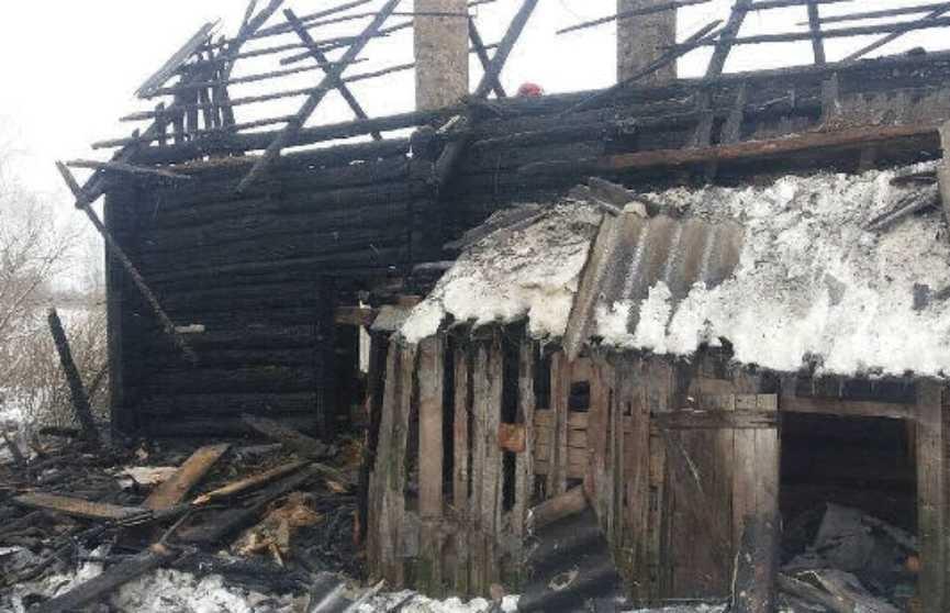 Два брата погибли при пожаре в частном доме в Витебской области