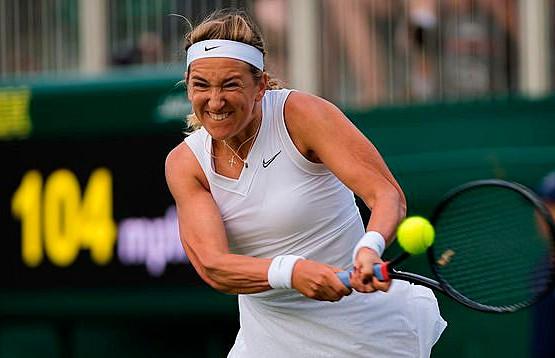 Азаренко уступила Халеп в 1/16 финала одиночного разряда в Уимблдоне