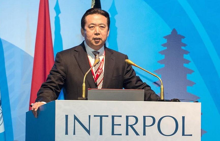 Глава Интерпола Мэн Хунвэй ушёл в отставку