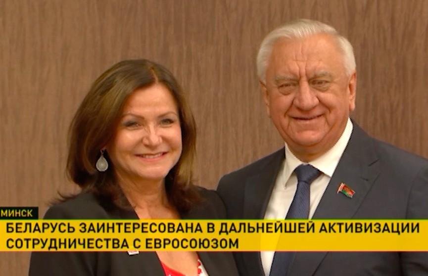Беларусь заинтересована в дальнейшей активизации сотрудничества с ЕС