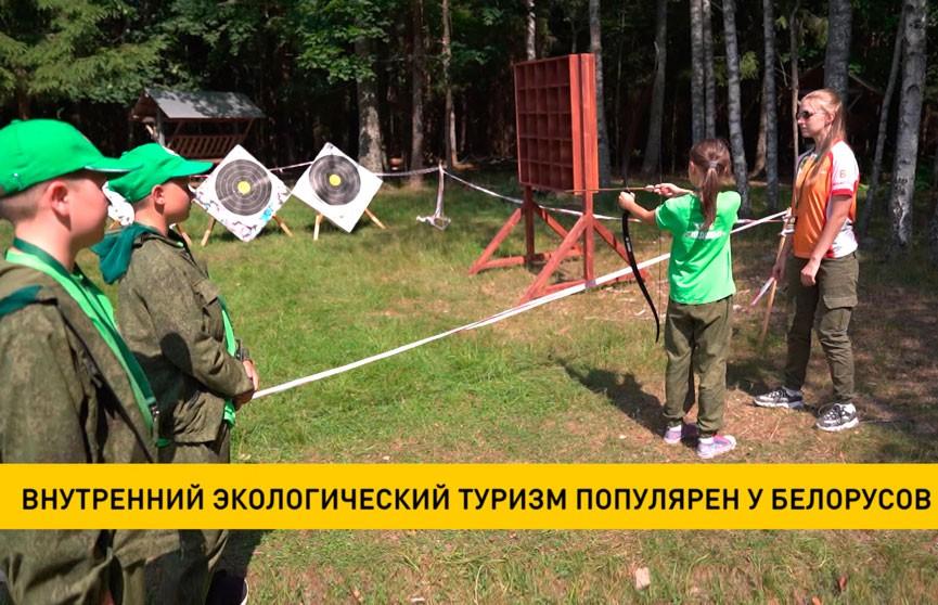 Внутренний экологический туризм набирает популярность у белорусов