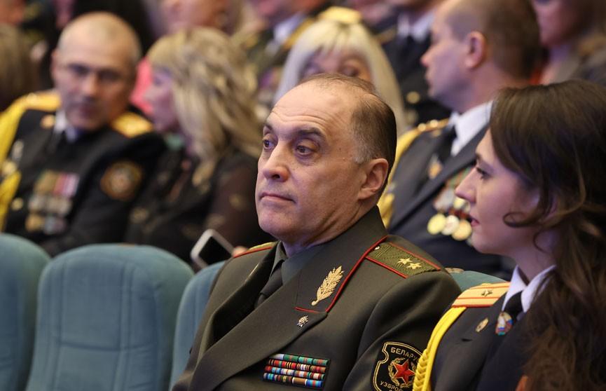 Лукашенко присвоил Вольфовичу звание генерал-лейтенанта