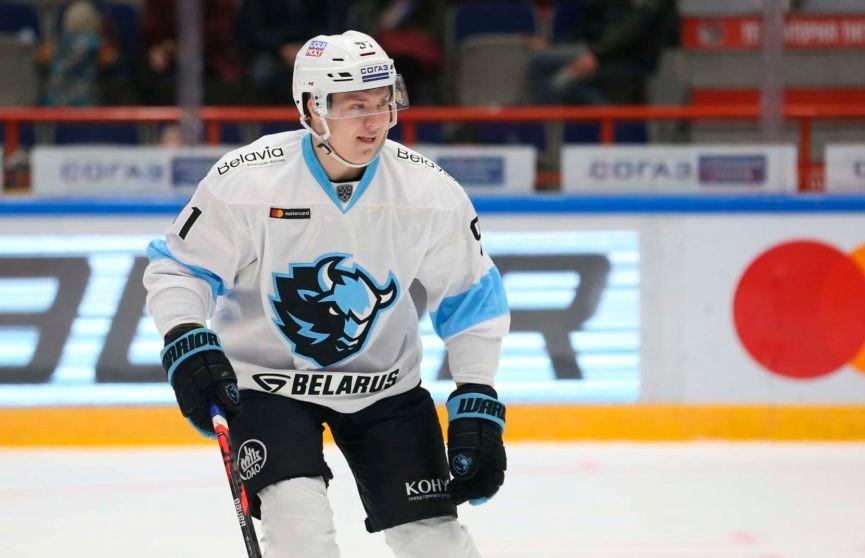 Белорусский хоккеист Иван Дроздов продолжит карьеру в московском «Спартаке»