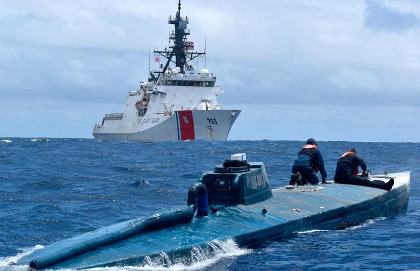 Береговая охрана США захватила подлодку с кокаином