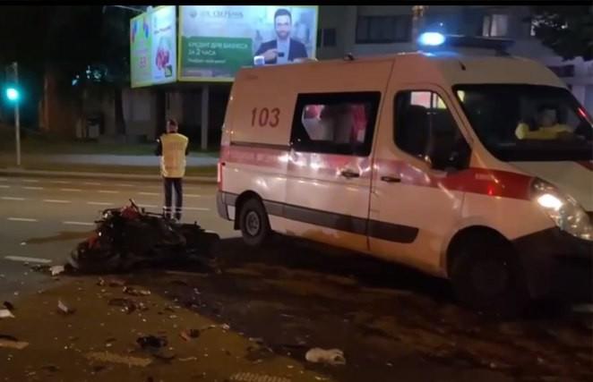 ДТП на Логойском тракте в Минске: погиб мотоциклист