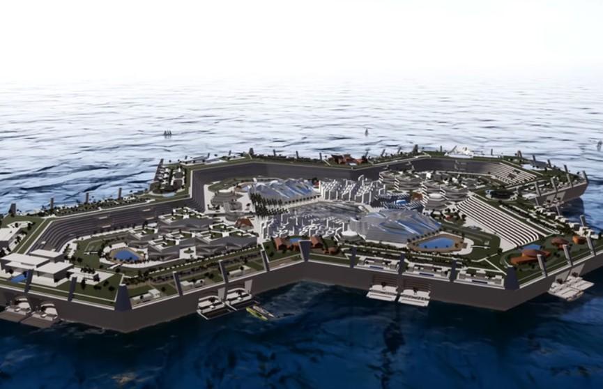 Искусственный остров для 15 тыс. жителей создадут на Багамах – жилье там уже активно покупают (ВИДЕО)
