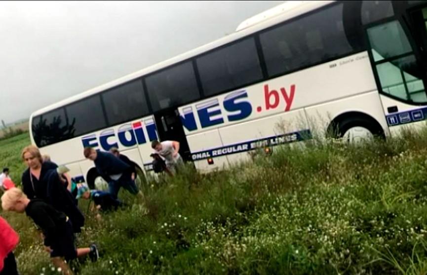 Дорожная авария с участием белорусов в Украине