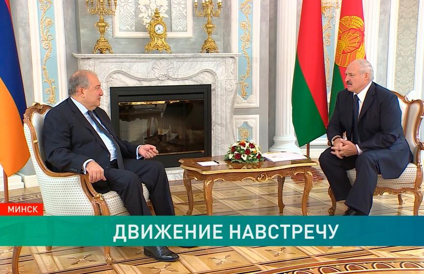 Визит президента Армении в Минск прошёл не без доли армянского юмора