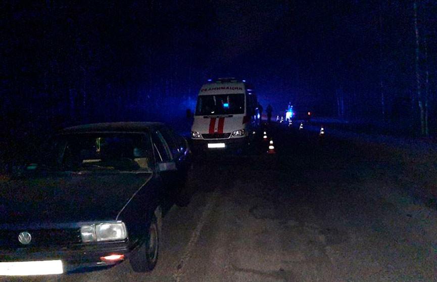 Два автомобиля сбили пешехода в Жлобинском районе. Мужчина погиб