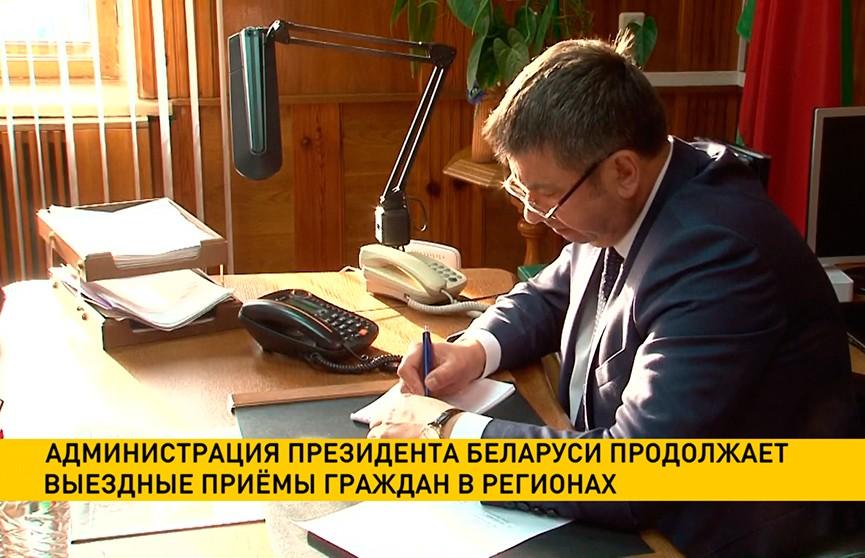 Помощник Президента Юрий Шулейко выслушал жалобы жителей Петрикова