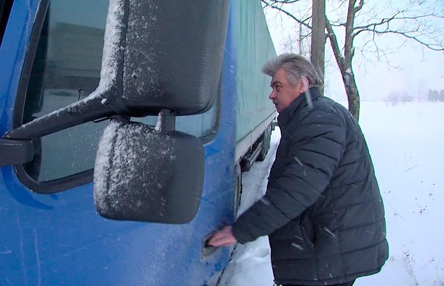 Дважды... в одну аварию. Злоключения дальнобойщика в России