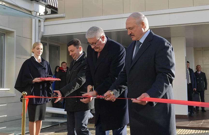 «Это объект справедливости»: в РНПЦ онкологии с участием Александра Лукашенко открыли пансионат