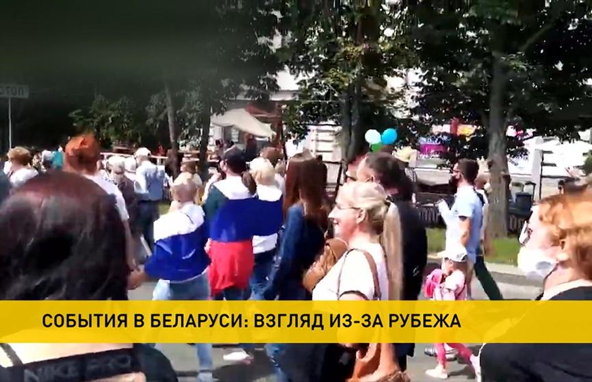 Владимир Путин и Эммануэль Макрон обсудили происходящие в Беларуси события