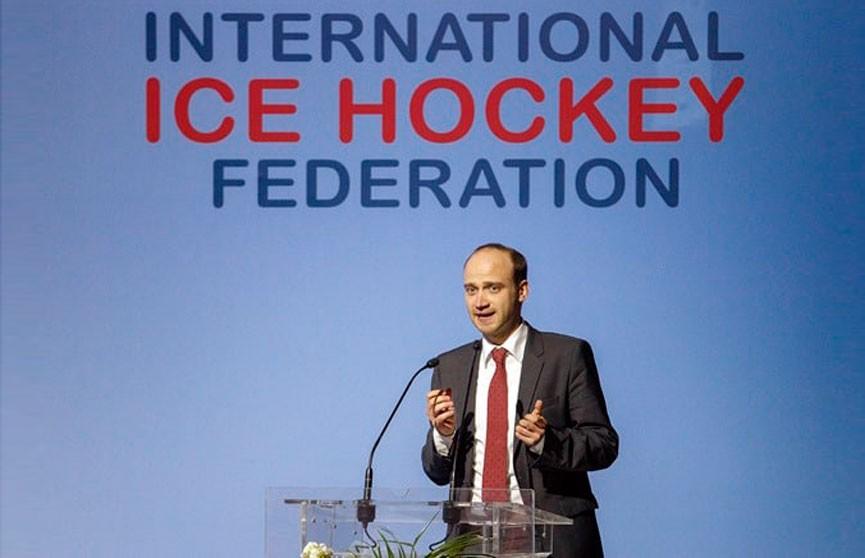 Заместитель председателя белорусской Федерации хоккея Сергей Гончаров баллотируется на пост президента IIHF
