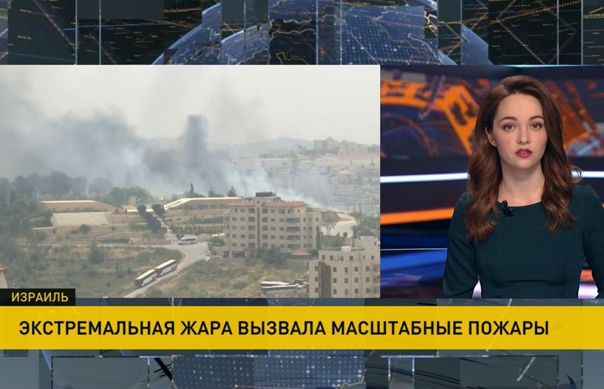 Лесные пожары в Израиле: десятки домов уничтожены огнём
