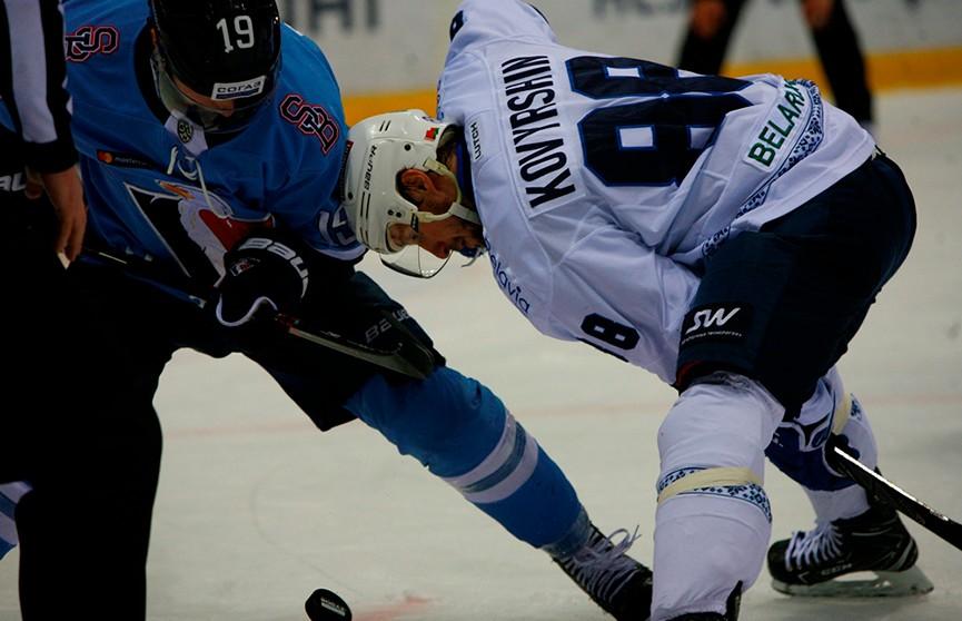 Минское «Динамо» проиграло братиславскому «Словану» несмотря на преимущество в две шайбы по ходу игры