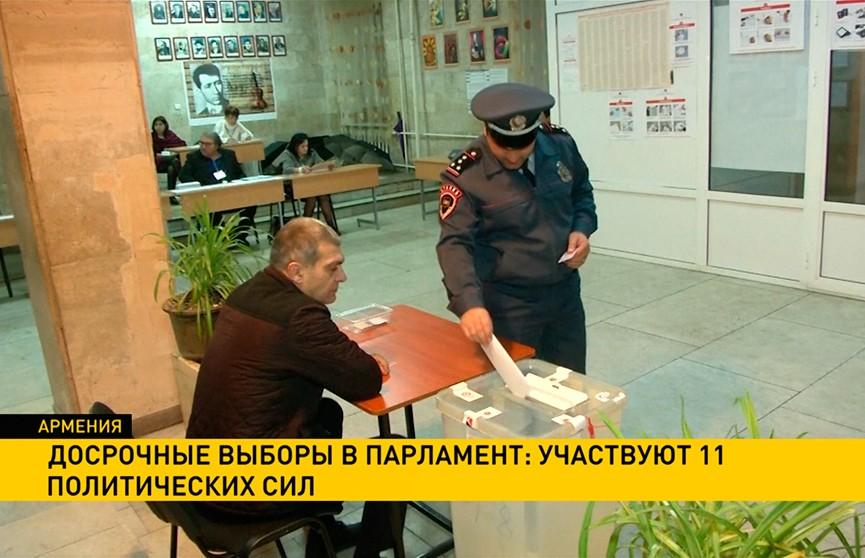 В Армении выбирают парламент