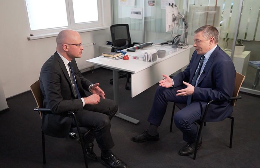 «Здесь всегда политика открытых дверей, когда что-то обещают – всегда делают»: интервью с главой представительства ЕБРР в Беларуси Александром Пивоварским