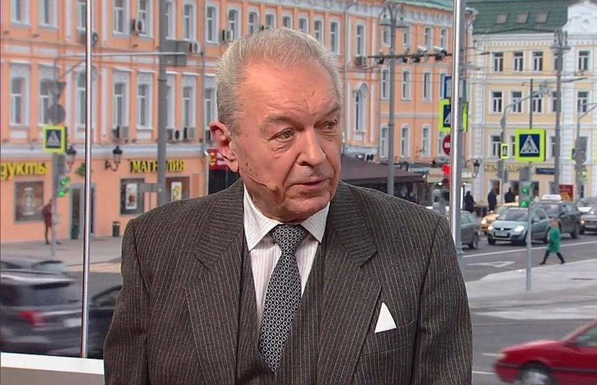 Умер диктор программы «Время» Евгений Суслов