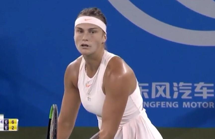 Арина Соболенко вышла в финал теннисного турнира в Ухене