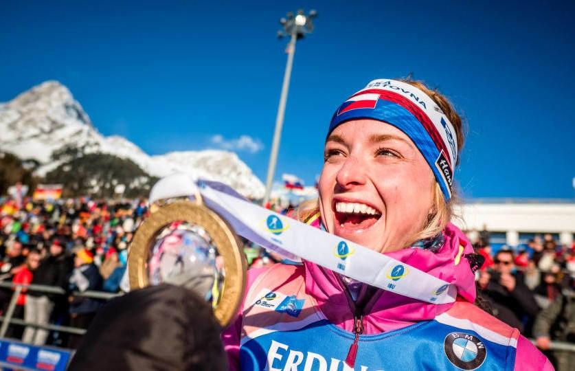 Чемпионат мира по биатлону: чешка Маркета Давидова выиграла индивидуальную гонку