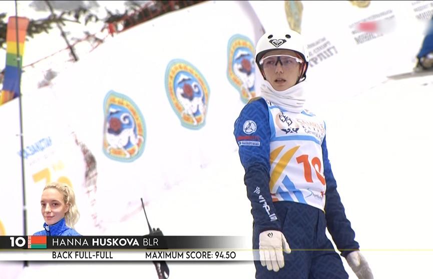 Белорусская фристайлистка Анна Гуськова заняла пятое место на чемпионате мира в Казахстане