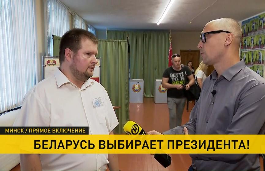 «Достаточно большое количество людей приходило досрочно голосовать». Председатель одной из избирательных комиссий в Минске – об обстановке на участке и количестве проголосовавших