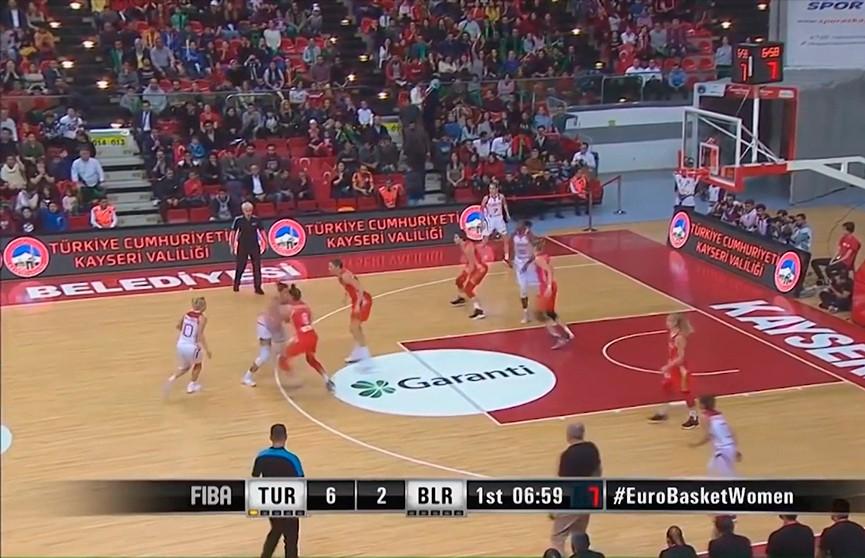 Баскетболистки сборной Беларуси приняли участие в международном турнире в Риге