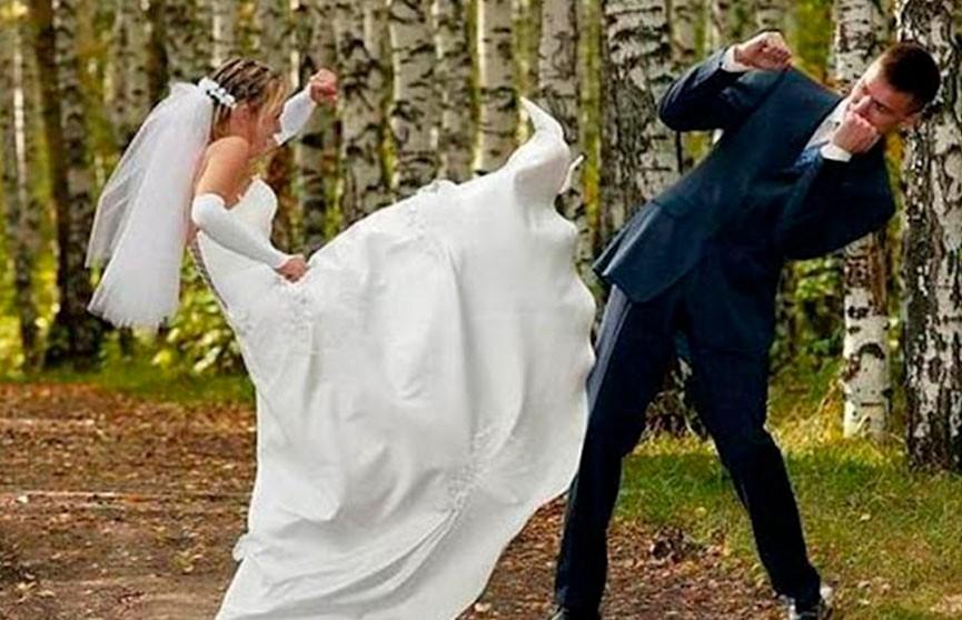 Свадебные драки! Вы точно должны увидеть эти фото!