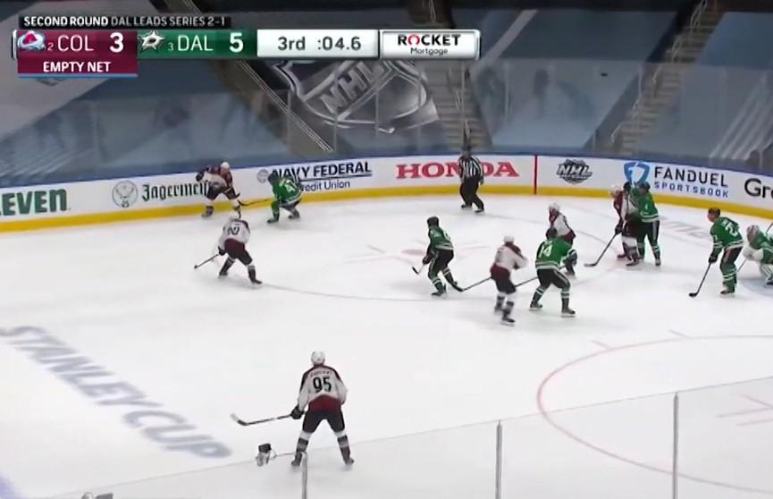 Хоккеисты «Колорадо» уступили «Далласу»