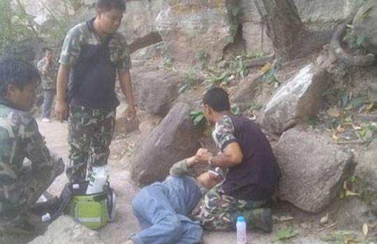 Беременная женщина упала с 34-метровой скалы и выжила. Ее столкнул муж