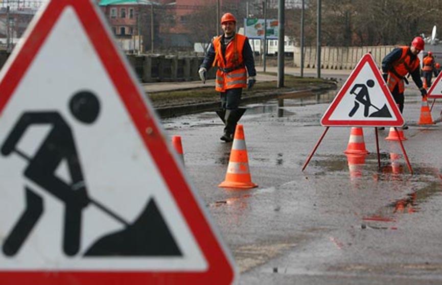 В Минске закрыли въезд на переулок Рабочий с Партизанского проспекта