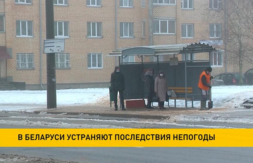 Более 60 ДТП произошло в Могилёвской области из-за гололедицы