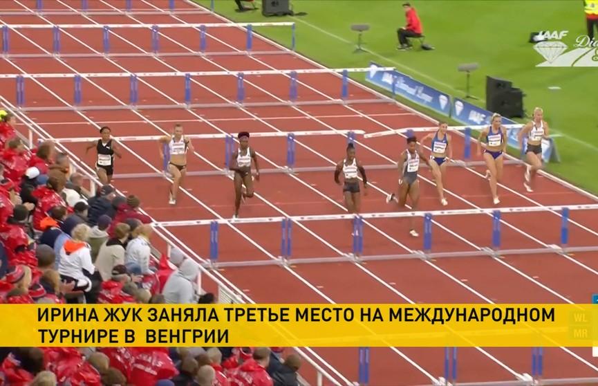 Белорусские легкоатлеты успешно выступают на международном турнире в Венгрии