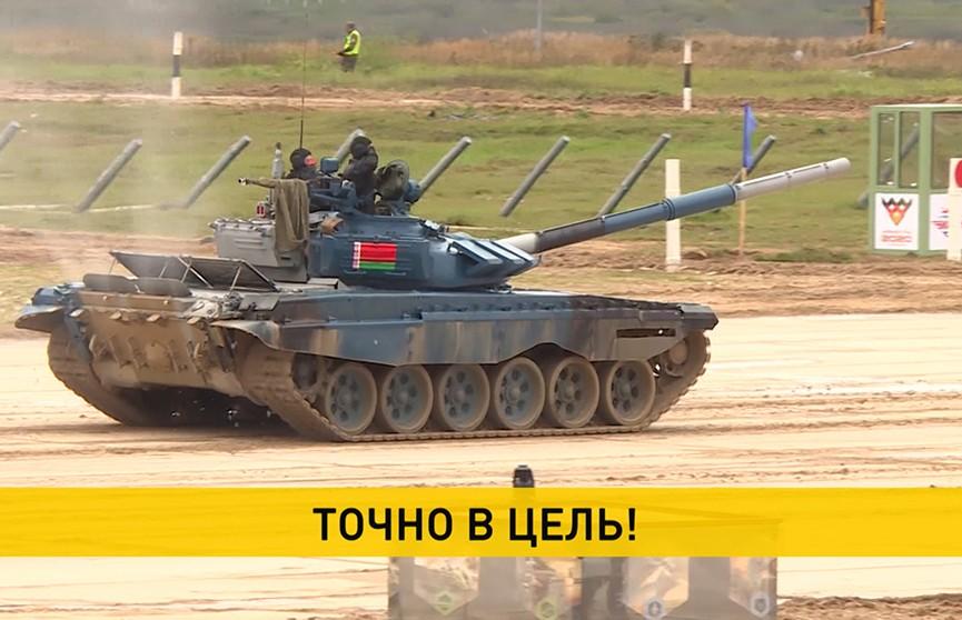 Белорусские военные показывают хорошие результаты на Армейских играх