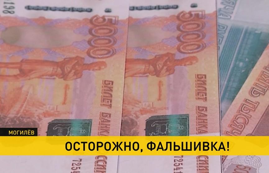 Фальшивые деньги опять выявили в Могилеве. Откуда купюры?