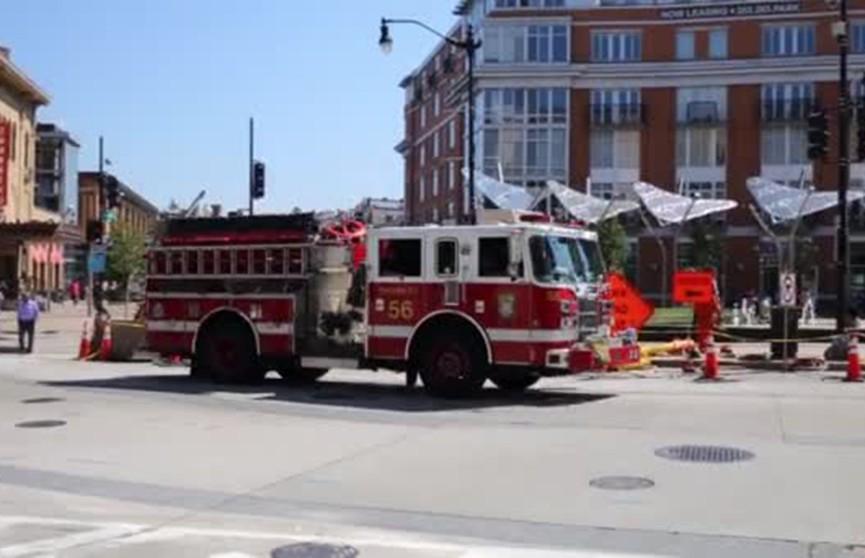 Пожар уничтожил студии нескольких ведущих американских СМИ
