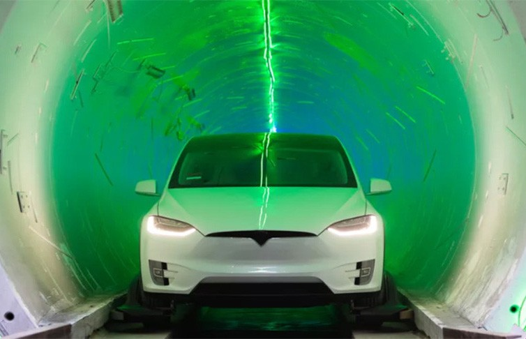 Построен второй скоростной автомобильный тоннель под Лас-Вегасом