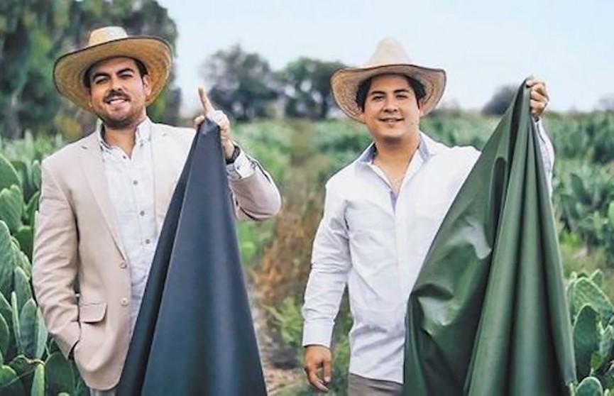 Двое мексиканцев производят кожу из кактусов ради спасения животных