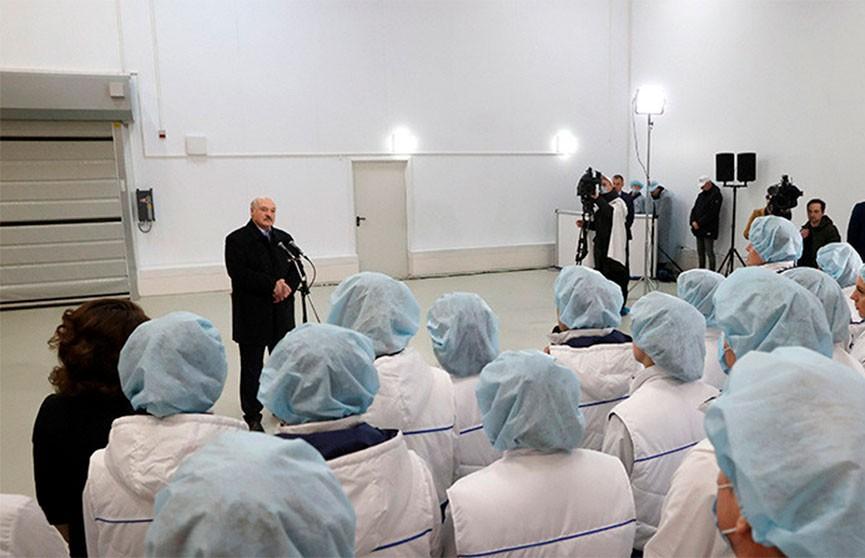 Лукашенко рассказал о том, как собирали корзину с подарками Путину